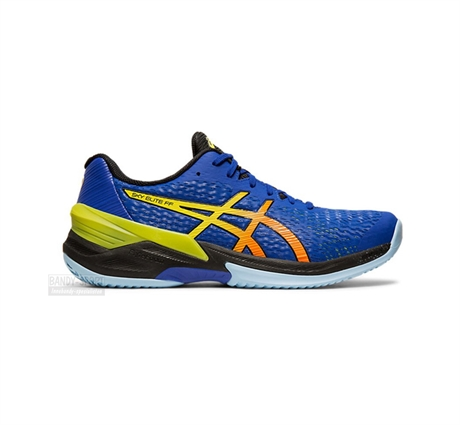 ASICS GEL SKY ELITE BLUE YELLOW SIDE