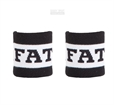 Fat Pipe Bugatti Wristband Black/White 2-pk