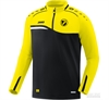 JAKO Competition 2.0 Zip-Top Black/Yellow (8618-03) St. Croix